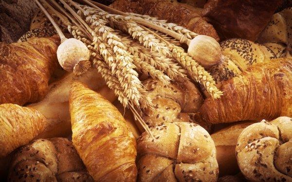 Food Baking Bread Croissant Still Life Viennoiserie HD Wallpaper | Background Image
