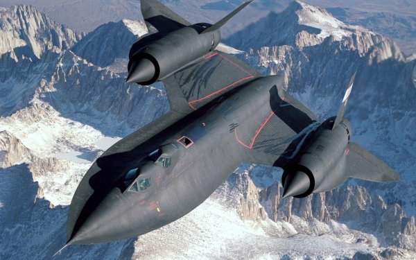 Military - Lockheed SR-71 Blackbird Wallpapers and Backgrounds