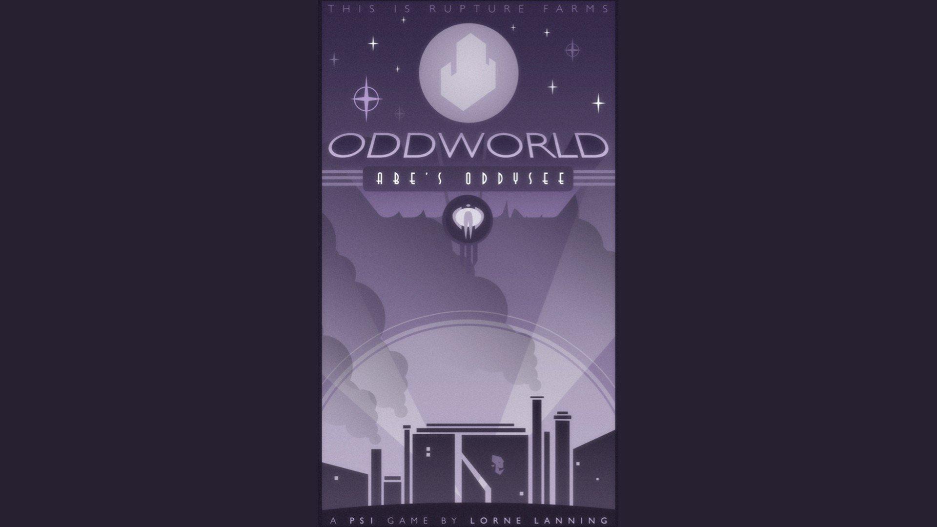 Video Game - Oddworld  Wallpaper