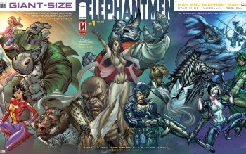 Comics - Elephantmen Wallpapers and Backgrounds ID : 413217