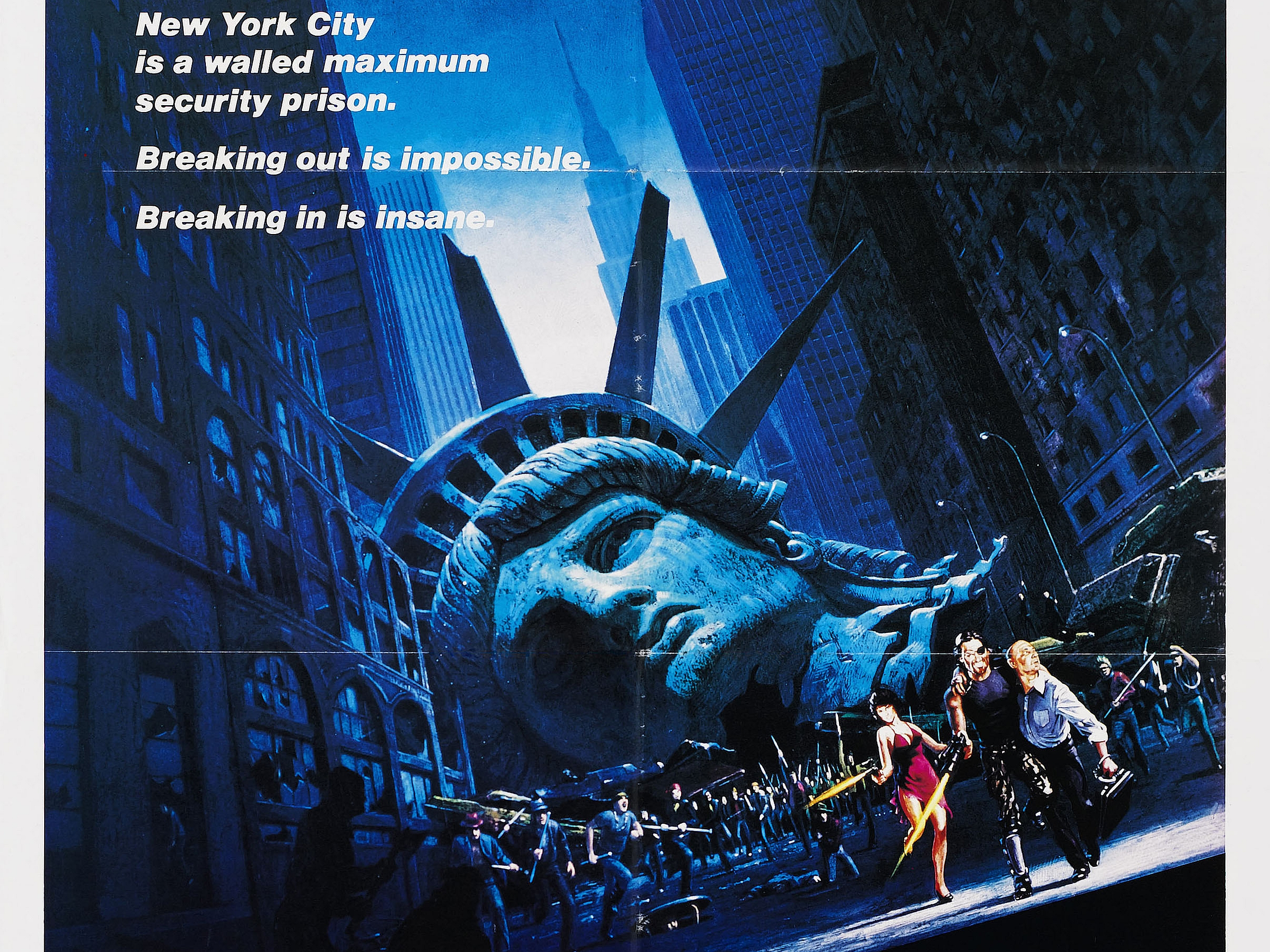 Escape From New York HD Wallpaper | Background Image ...
