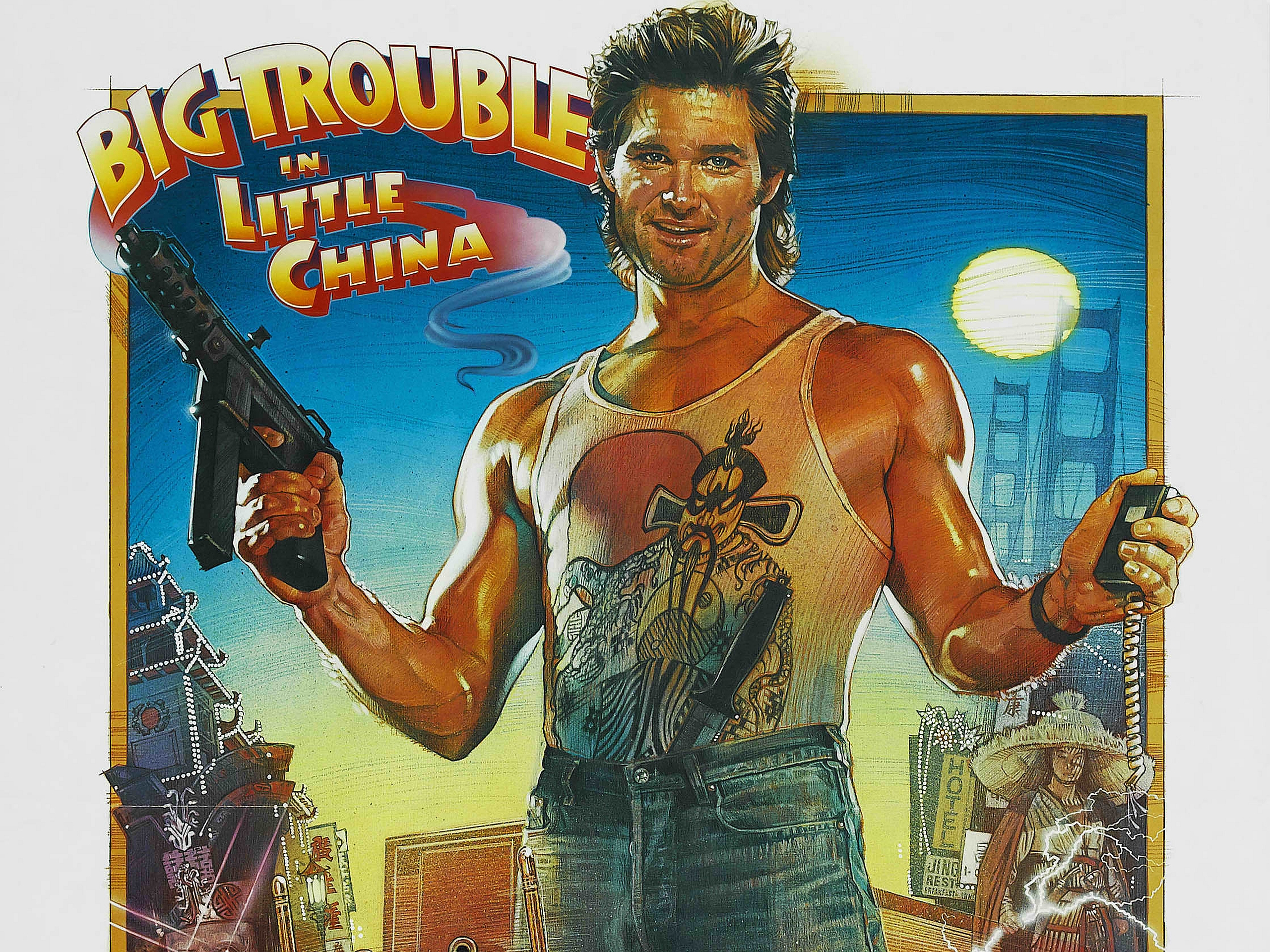 Big Trouble In Little China Hd Wallpaper Background Image