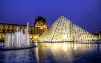 Man Made - The Louvre Wallpapers and Backgrounds ID : 414939