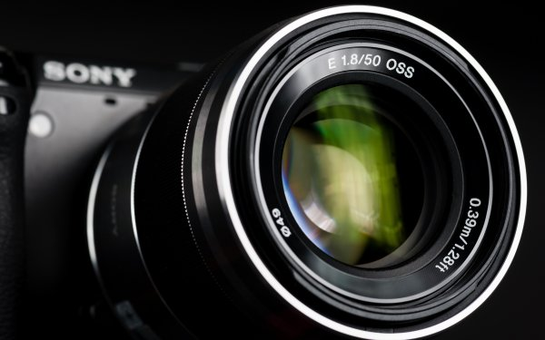 Man Made Camera Sony Lens HD Wallpaper   Background Image