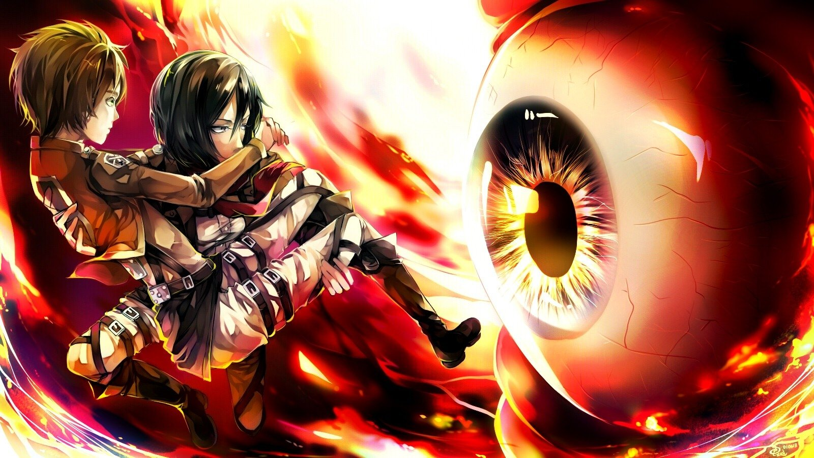 Attack On Titan Wallpaper and Background | 1600x900 | ID ...