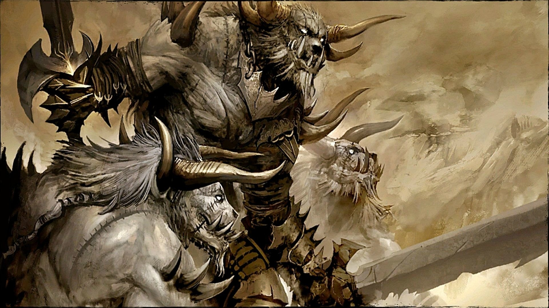 Guild Wars 2 Video Games Charr Wallpapers Hd Desktop: Guild Wars 2 Story Full HD Wallpaper And Background Image