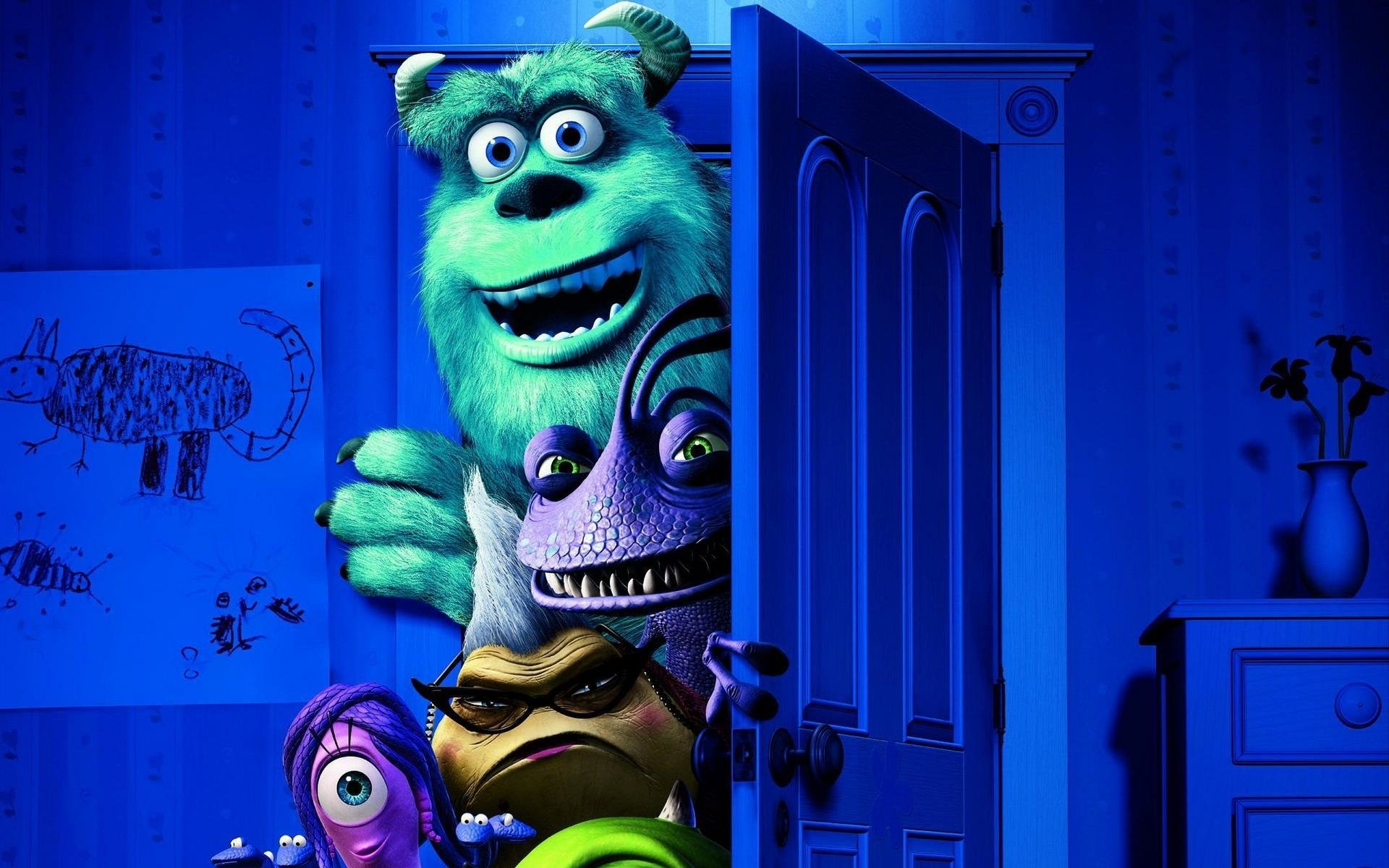 79 Monsters University HD Wallpapers Backgrounds Wallpaper Abyss
