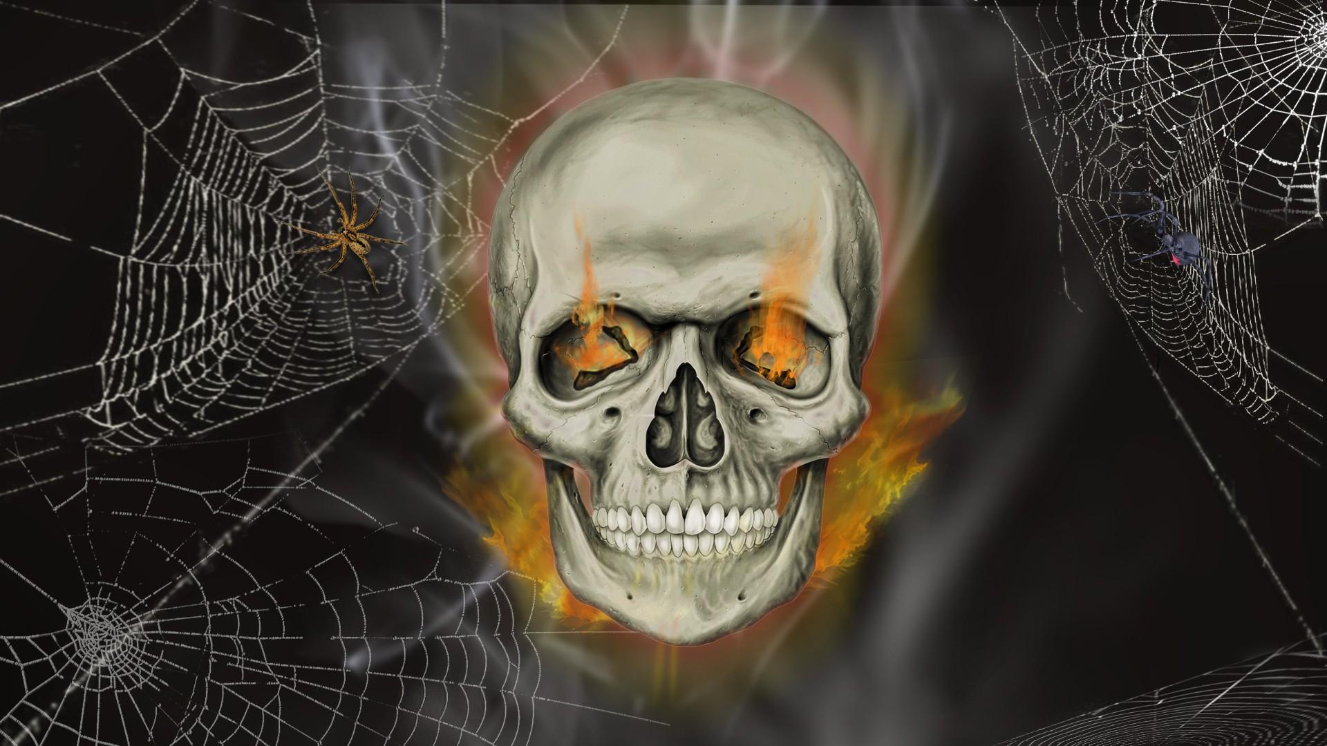 zombie skull wallpapers for desktop - photo #18