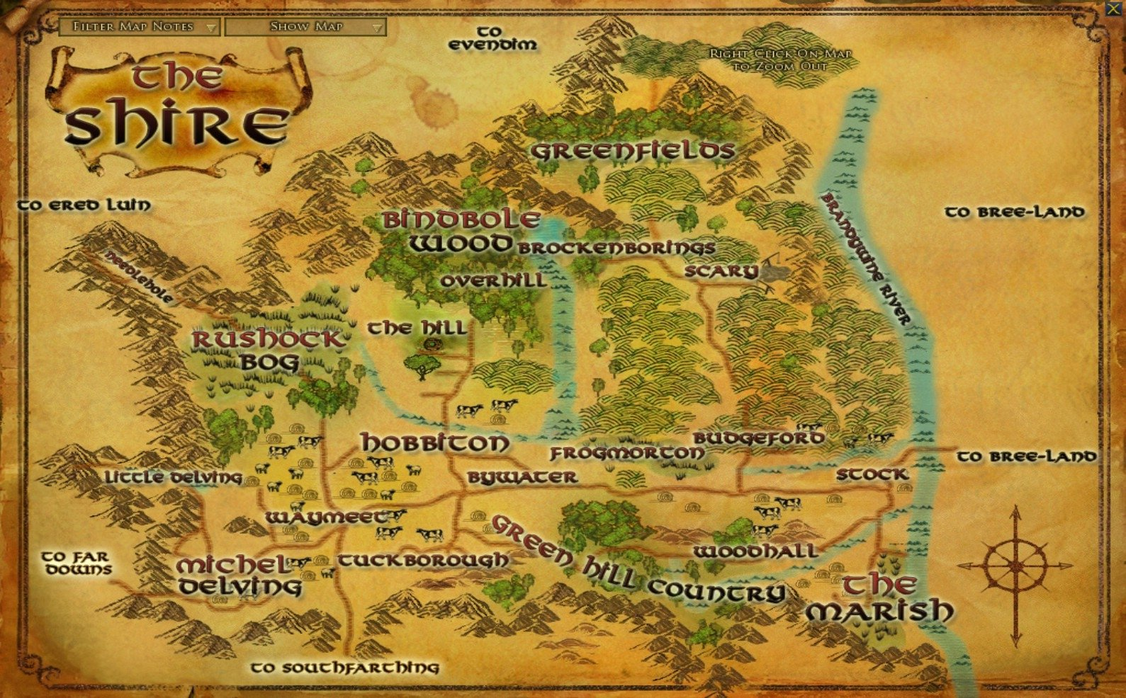 1 The Shire Lord Of The Rings Hd Wallpapers Background Images