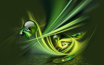Abstract - Green Wallpapers and Backgrounds ID : 416896
