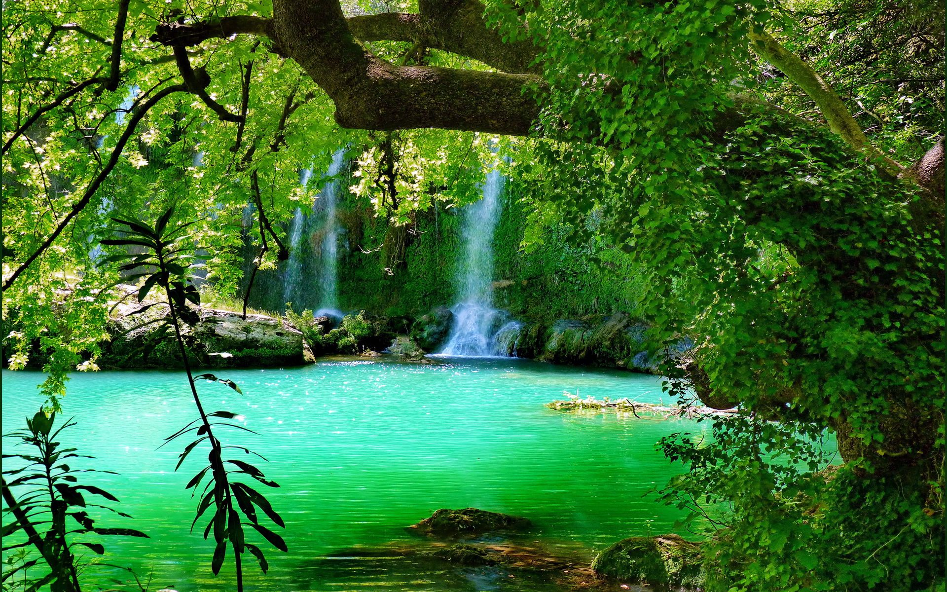 Waterfall Full HD Wallpaper and Background Image ...