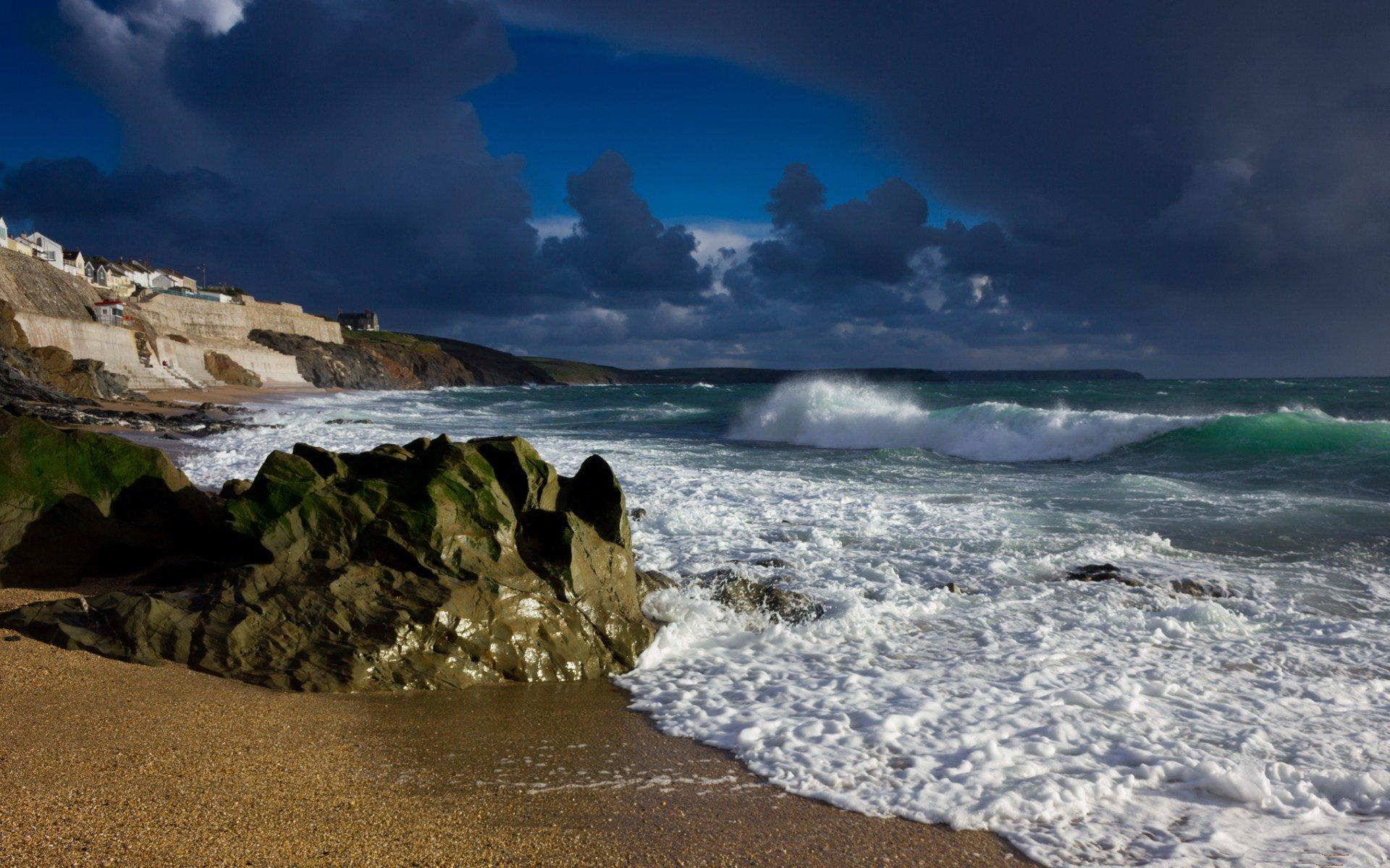 Jorden/Natur - Coastline  Bakgrund