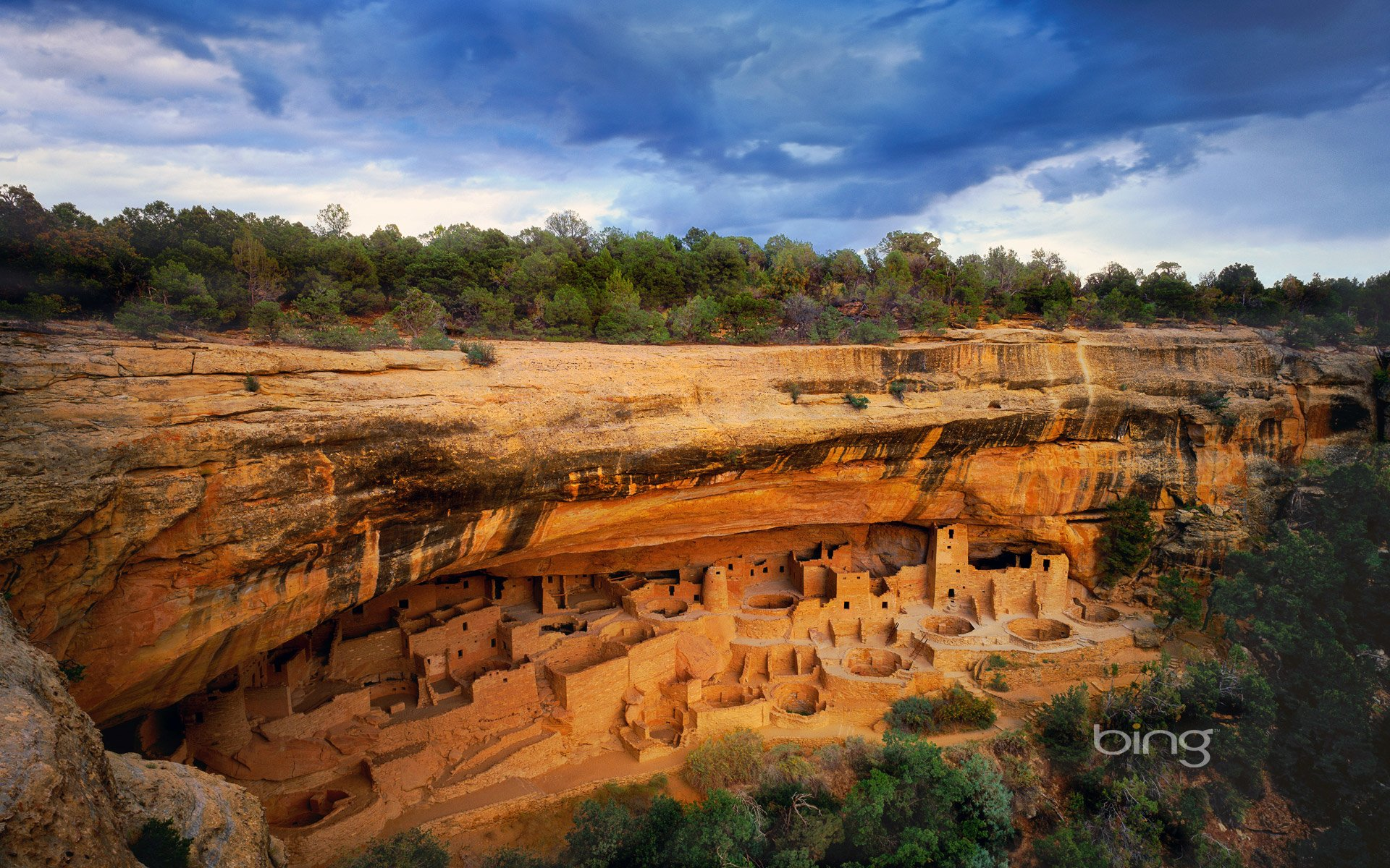 Cliff Palace, Mesa Verde National Park HD Wallpaper