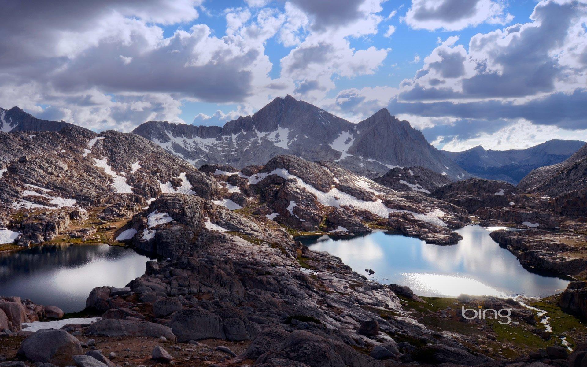 Earth - Landscape  Lake California Nature Mountain Bear Lakes Basin Wallpaper