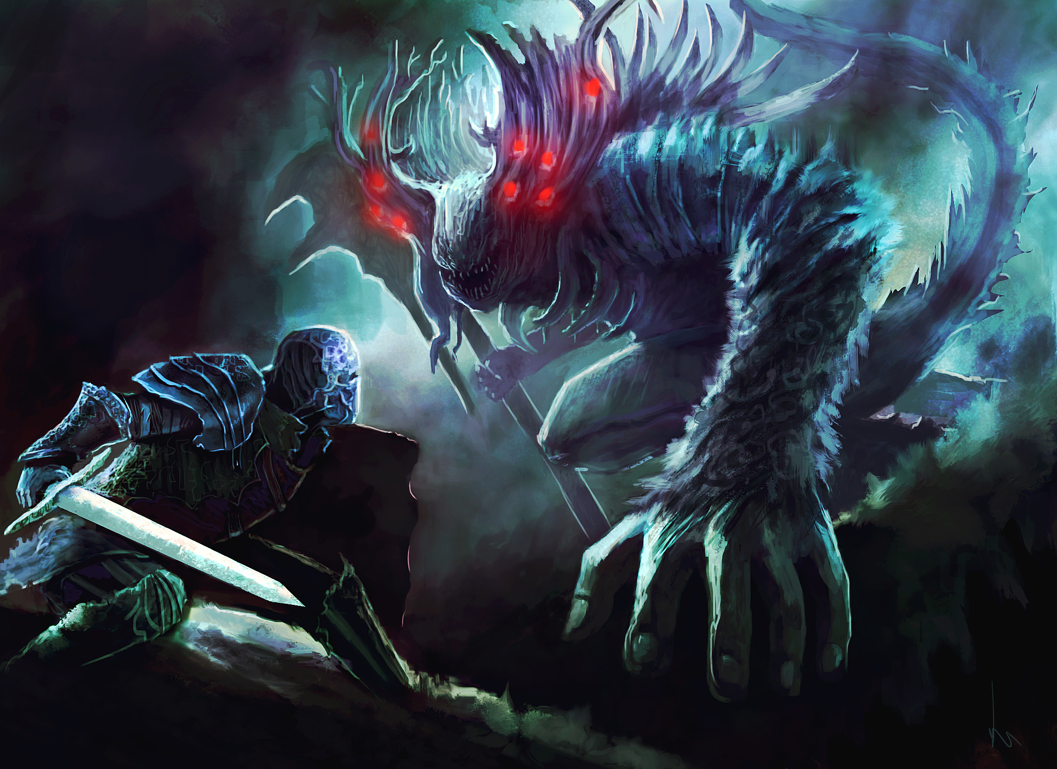 258 Dark Souls HD Wallpapers
