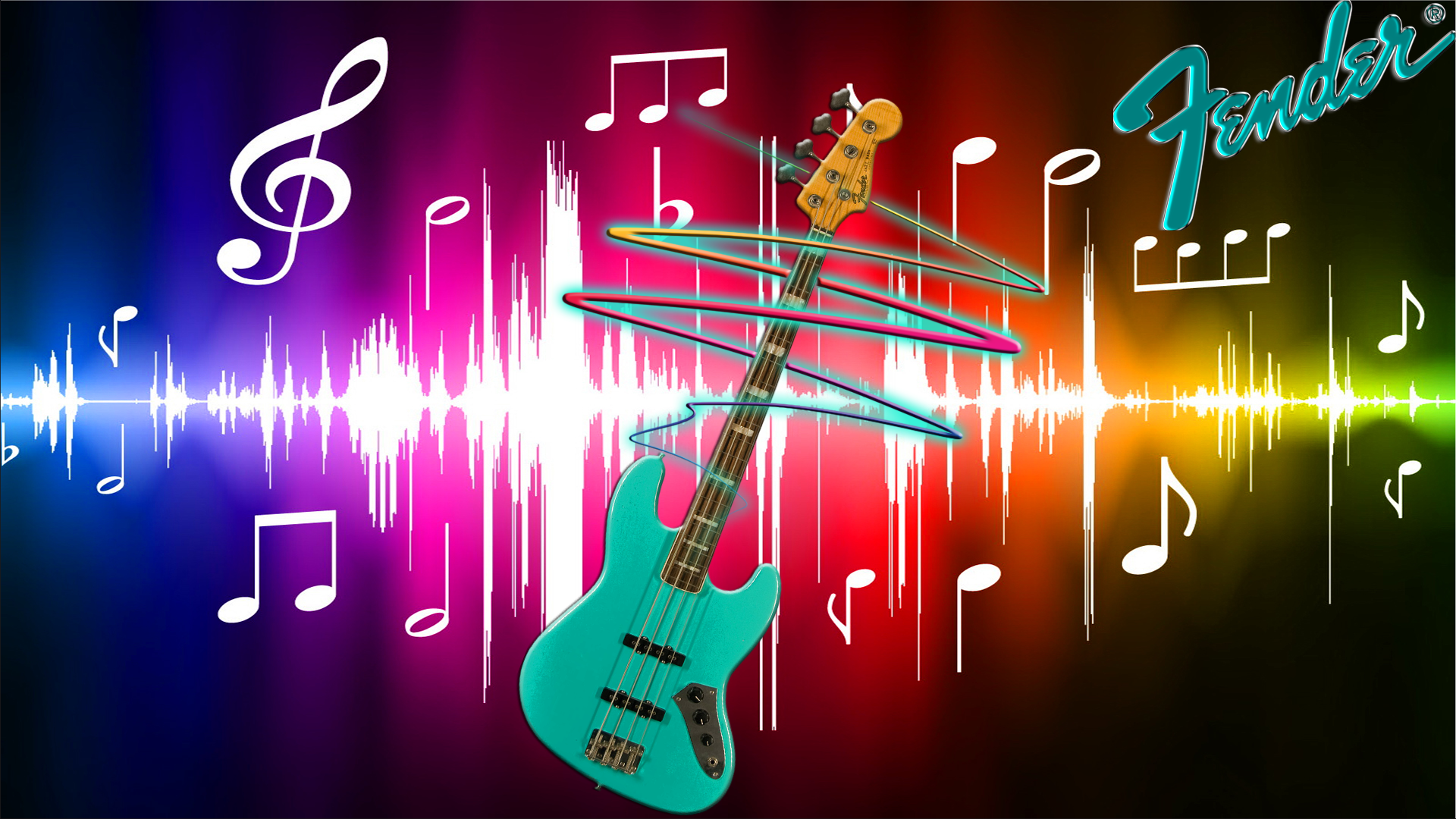 Fender Guitar Fondo De Pantalla HD