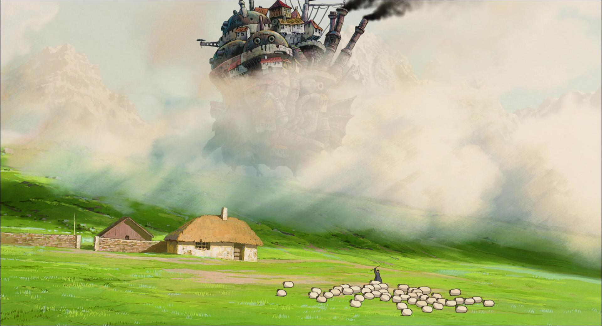 Howl's Moving Castle Wallpaper and Background Image ...