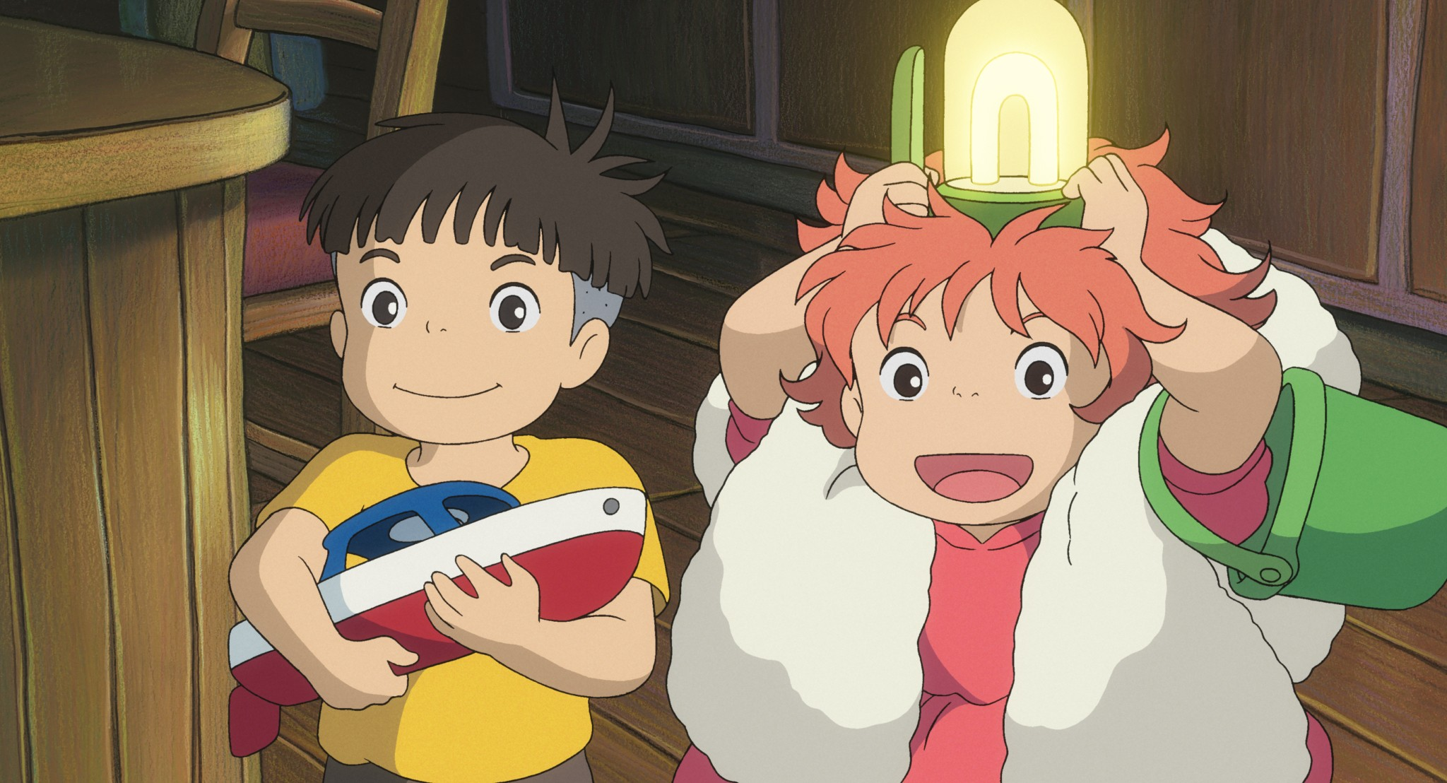 Ponyo Full HD Wallpaper and Background Image | 2048x1108 ...