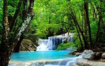 Earth - Waterfall Wallpapers and Backgrounds ID : 420166