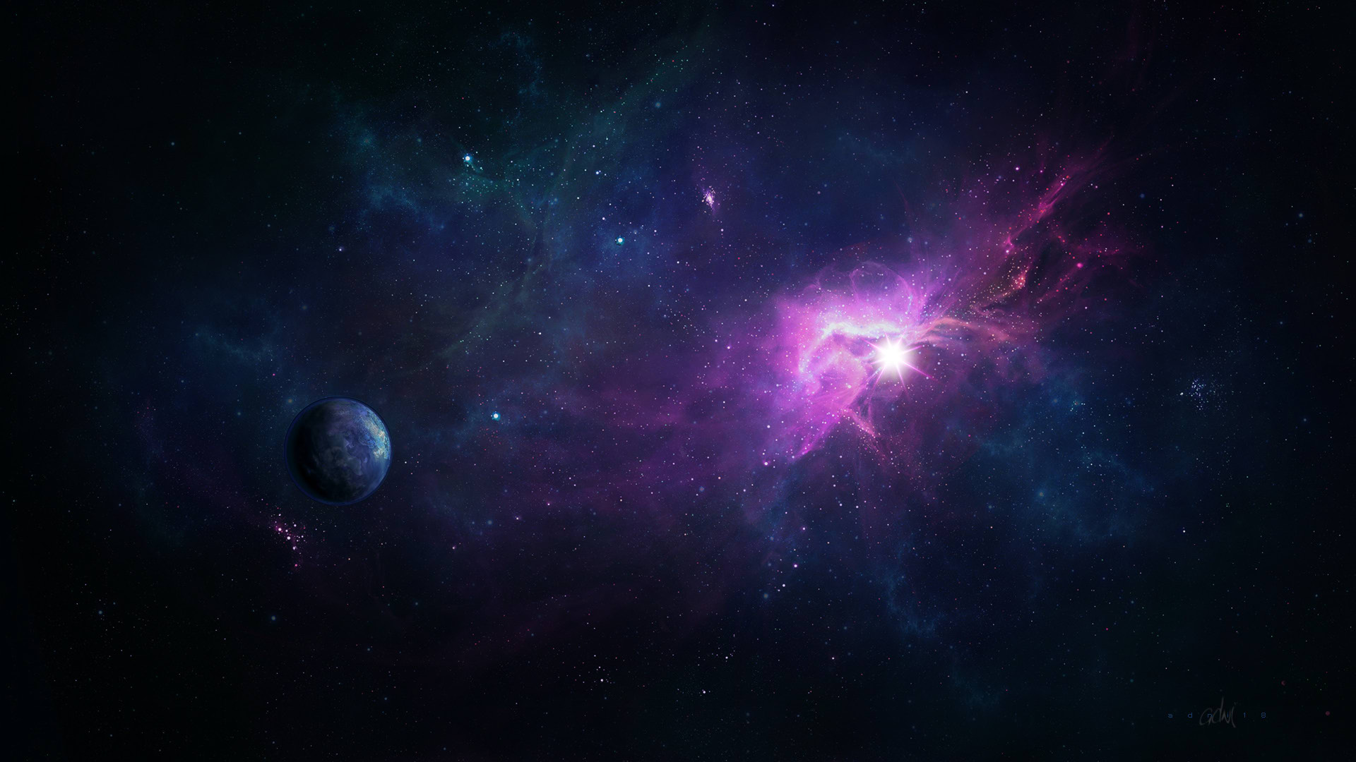 real space wallpapers widescreen