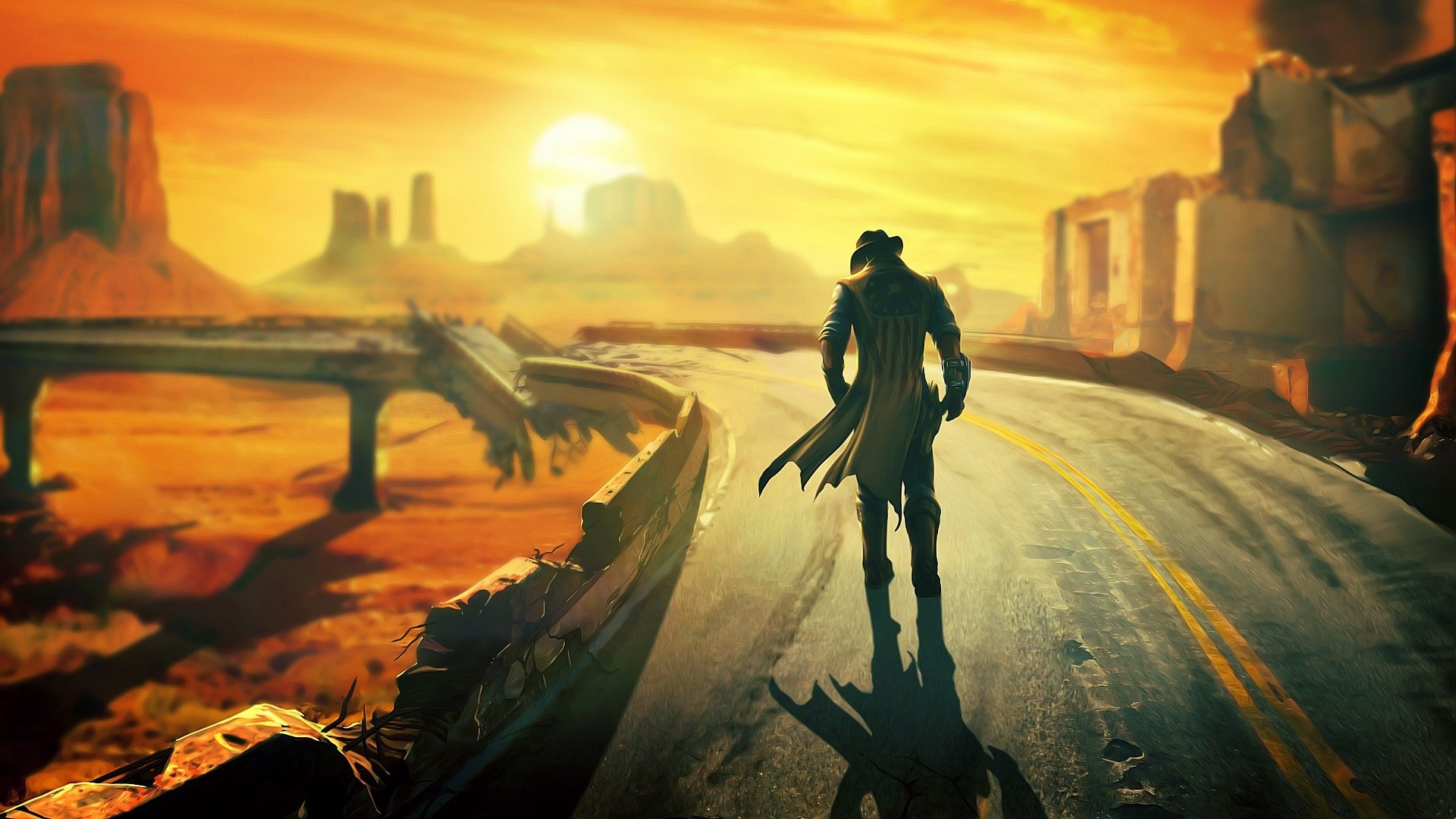 160 fallout: new vegas hd wallpapers | background images - wallpaper