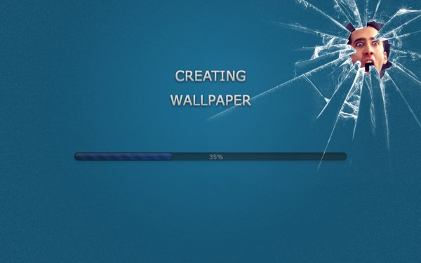 Humor Celebrity Funny Cage Blue HD Wallpaper | Background Image
