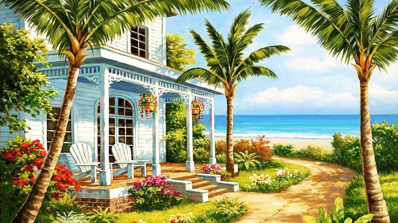 Peaceful Homes Paintings