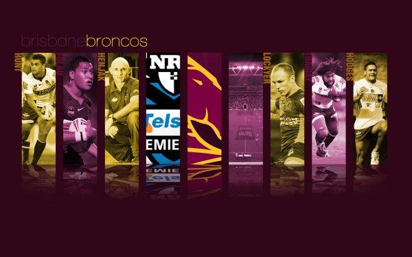 Sports Brisbane Broncos Rugby HD Wallpaper | Background Image