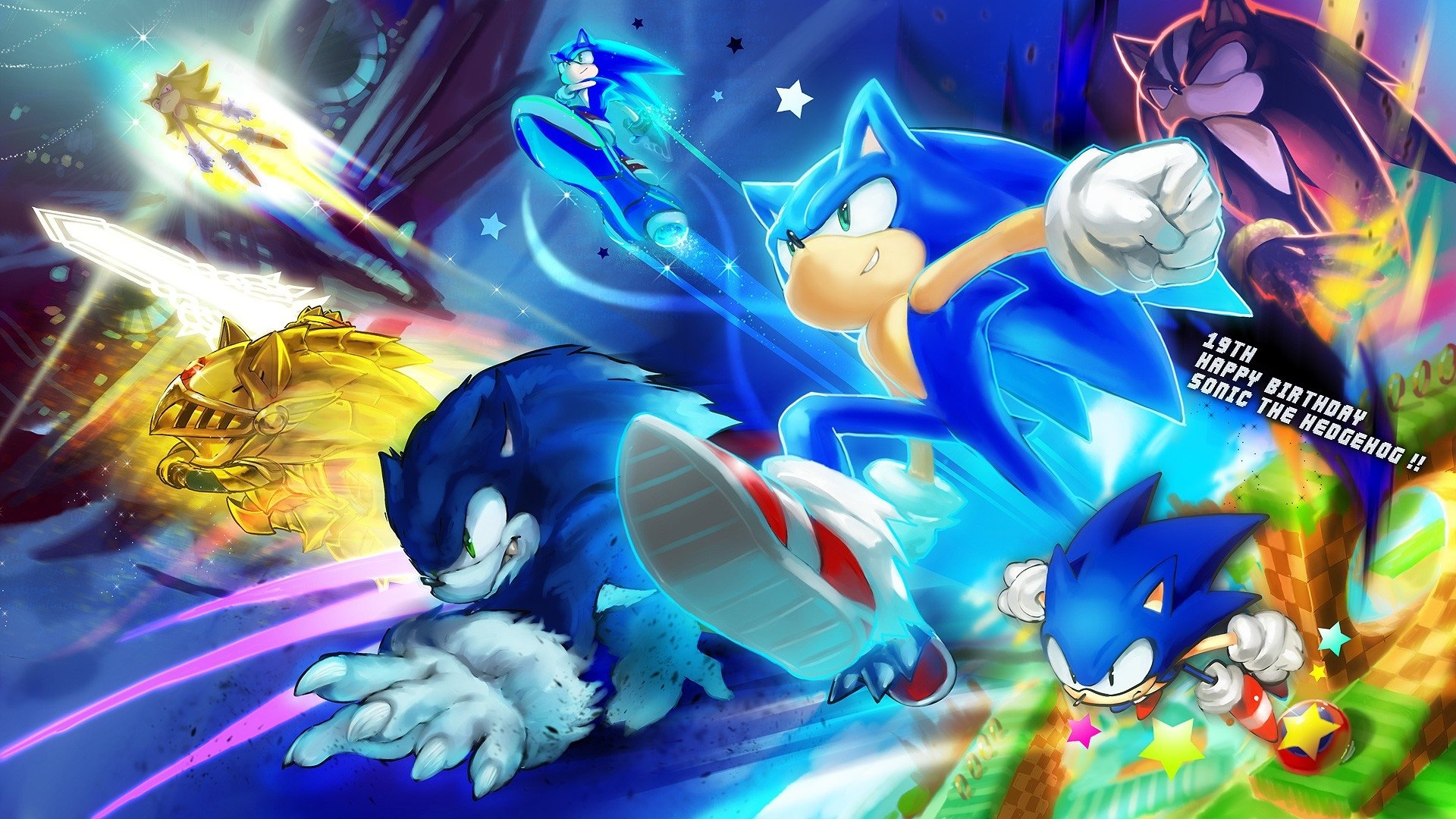 139 Sonic The Hedgehog Hd Wallpapers Background Images Wallpaper