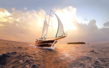 Vehículos - Sailboat Wallpapers and Backgrounds ID : 423041