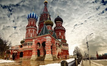Religioso - Saint Basil's Cathedral Wallpapers and Backgrounds ID : 423339