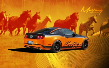 Vehicles - Ford Mustang Wallpapers and Backgrounds