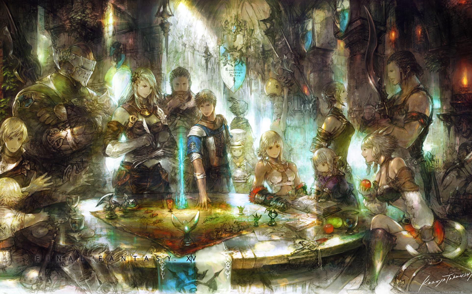Final Fantasy Xiv A Realm Reborn Fantasy Art Wallpapers: A Realm Reborn Full HD Wallpaper And Background Image
