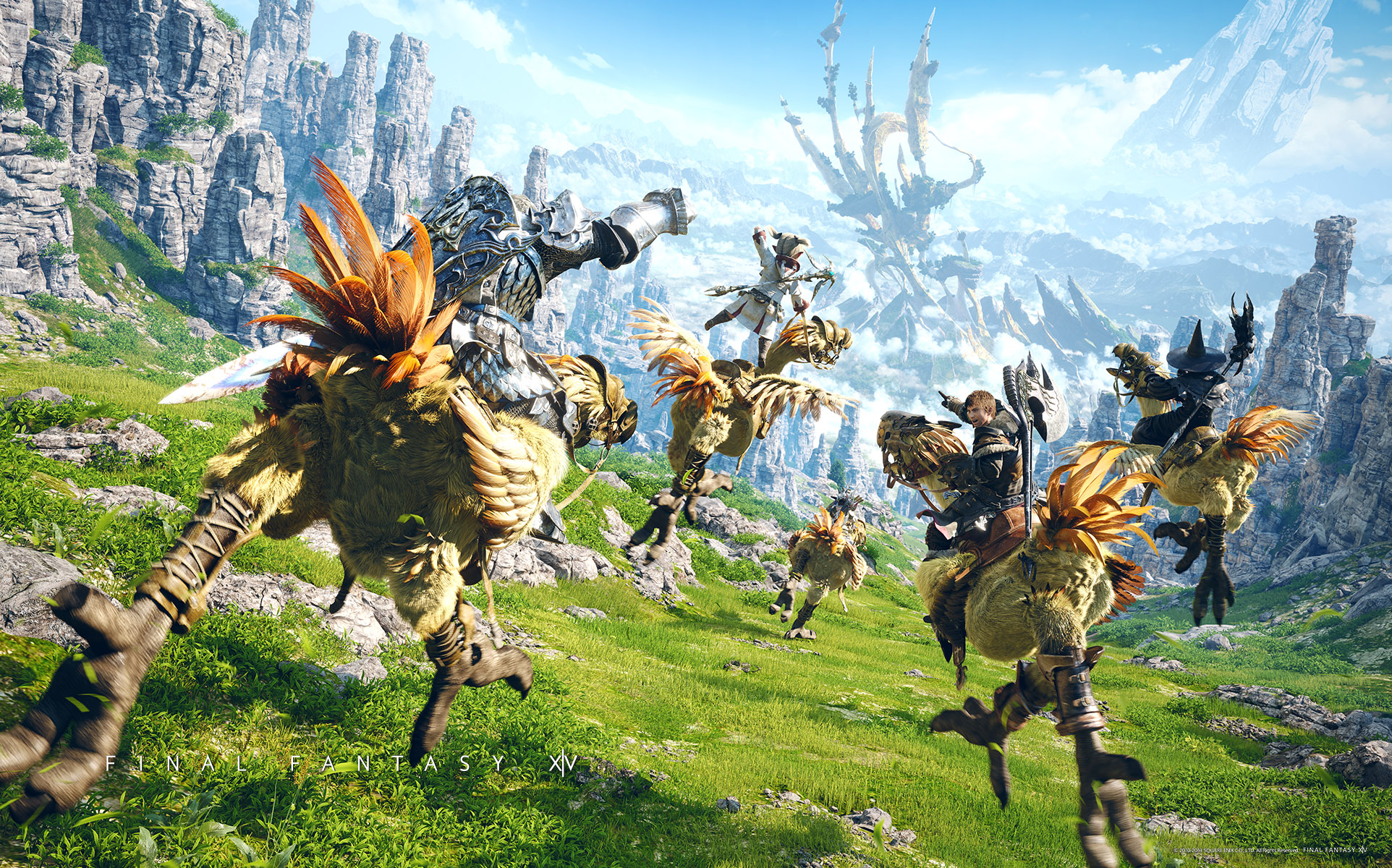 10 Chocobo Final Fantasy Hd Wallpapers Background Images