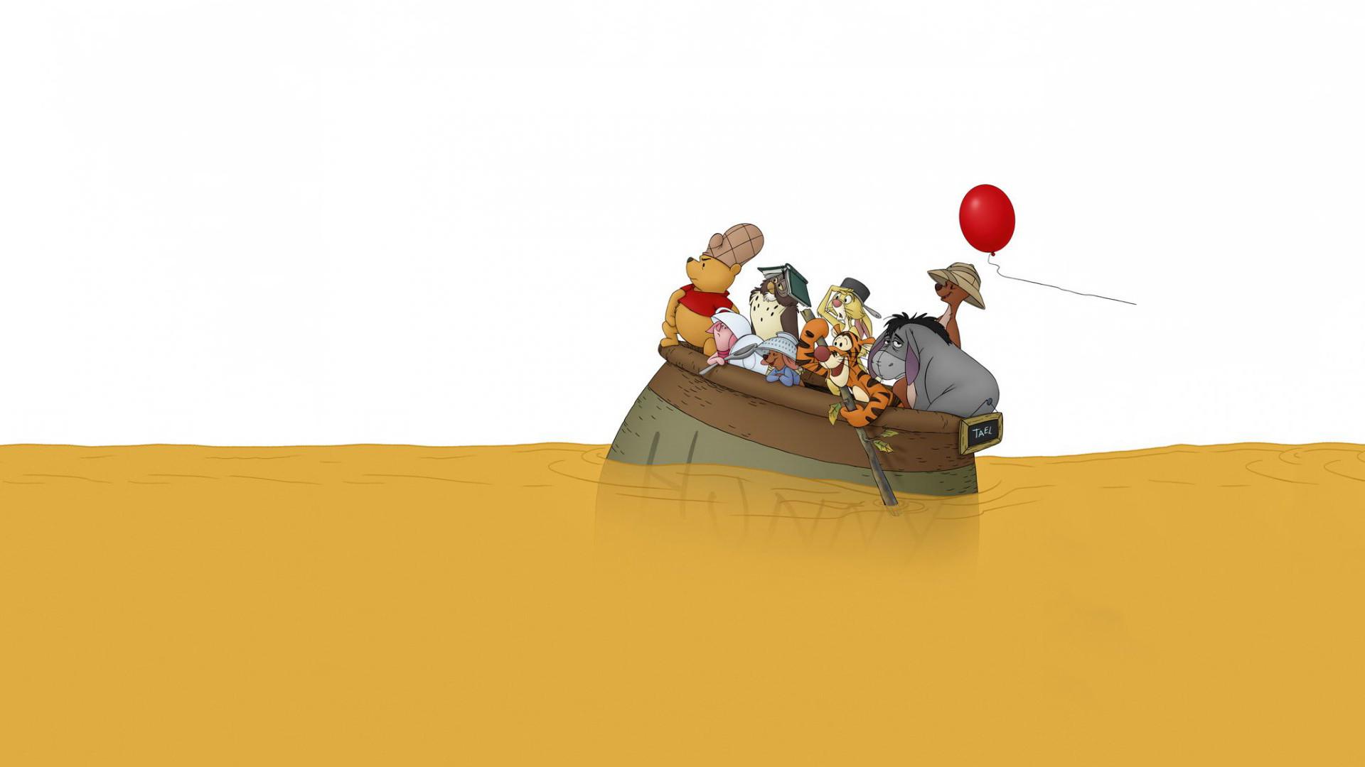 Winnie The Pooh HD Wallpaper