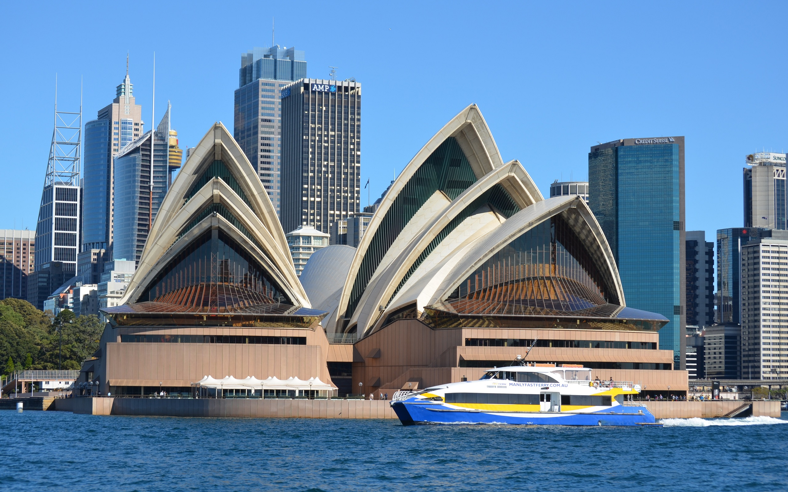 Sydney Opera house Australia And The Manly Fast Ferry HD ...
