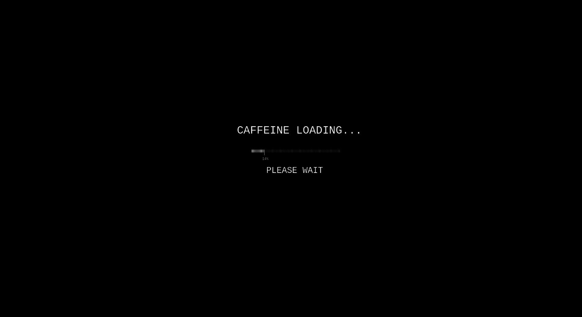 Caffeine loading please wait hd wallpaper background image 1980x1080 id 428151 - Wait wallpaper hd ...