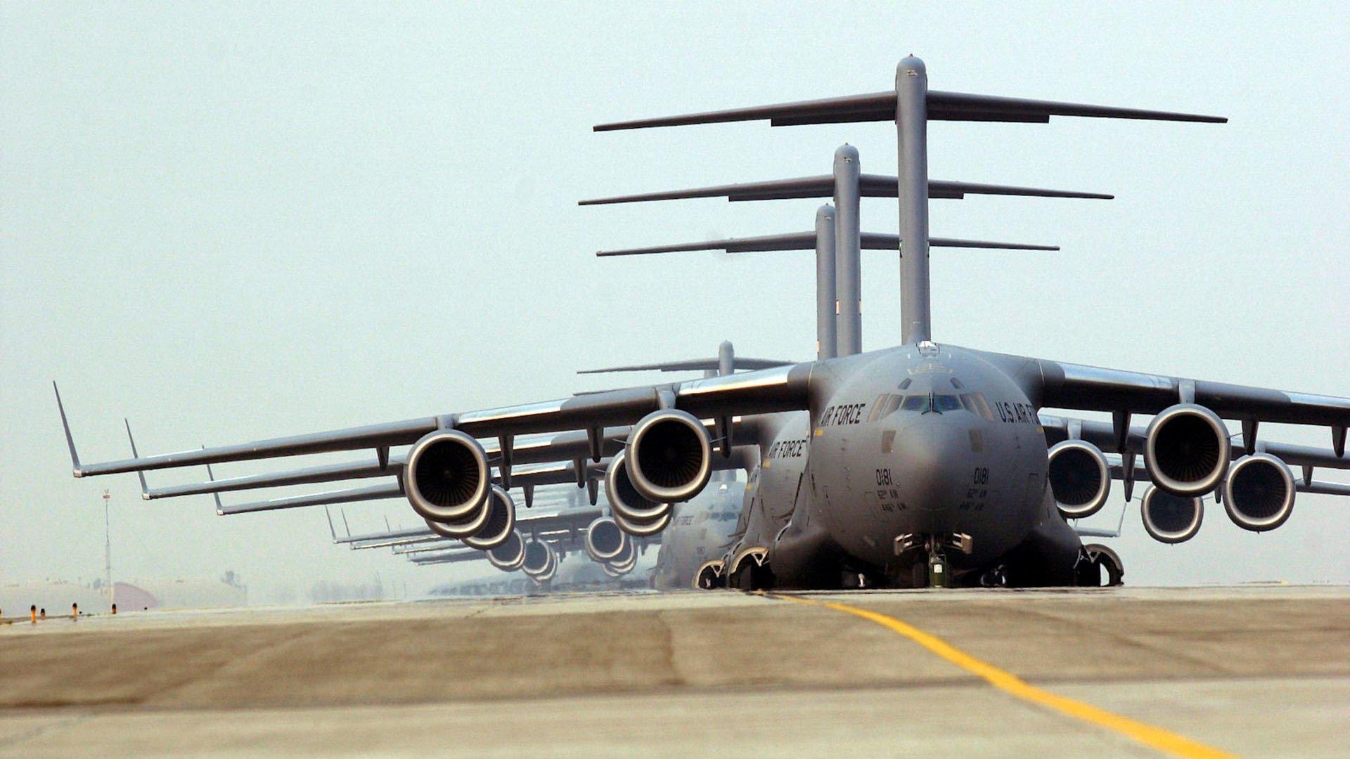 Обои самолеты, c-17 globemaster. Авиация foto 9