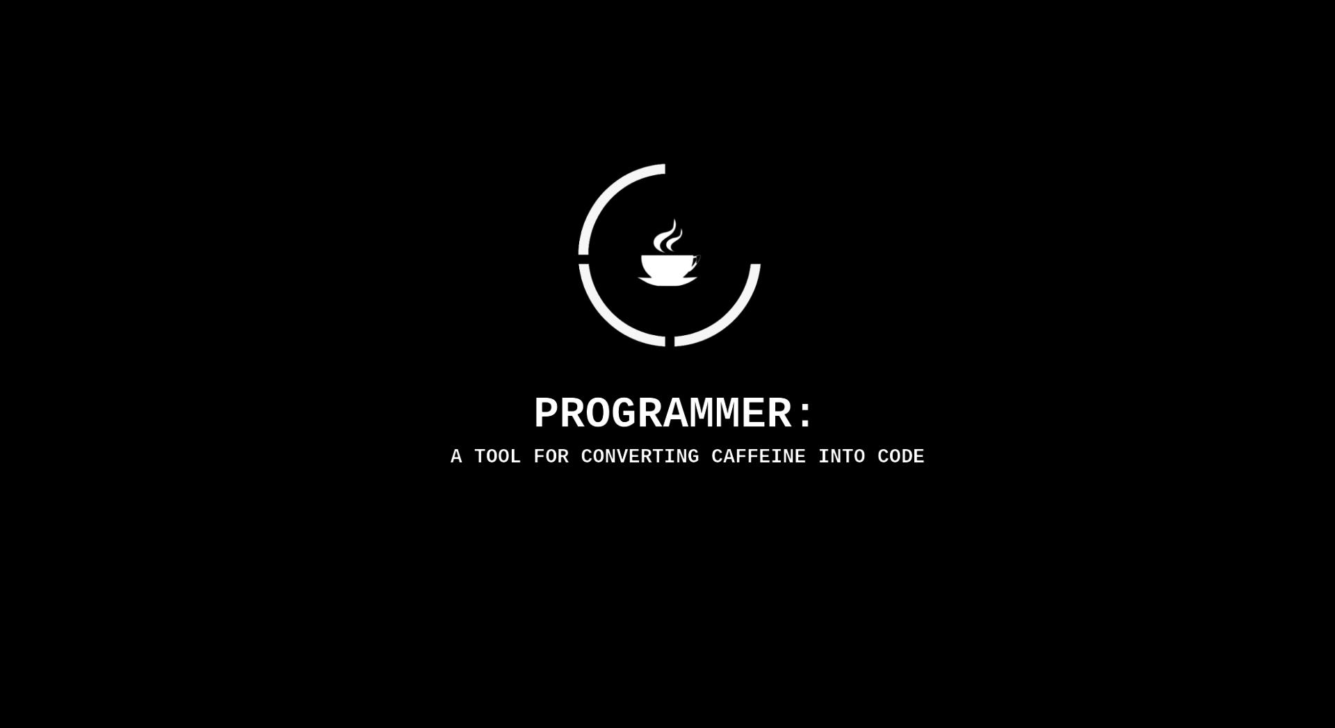 Technology - Computer  Black Coffee Wallpaper