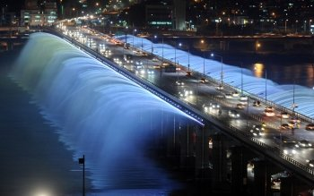Man Made - Banpo Bridge Wallpapers and Backgrounds ID : 428485