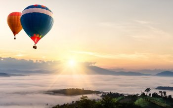 Vehicles - Hot Air Balloon Wallpapers and Backgrounds ID : 428686