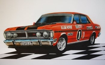 Vehicles - Xy Ford Falcon Phase Iii Gtho Wallpapers and Backgrounds ID : 429089