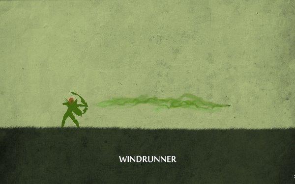Video Game DotA 2 Dota Windranger HD Wallpaper   Background Image