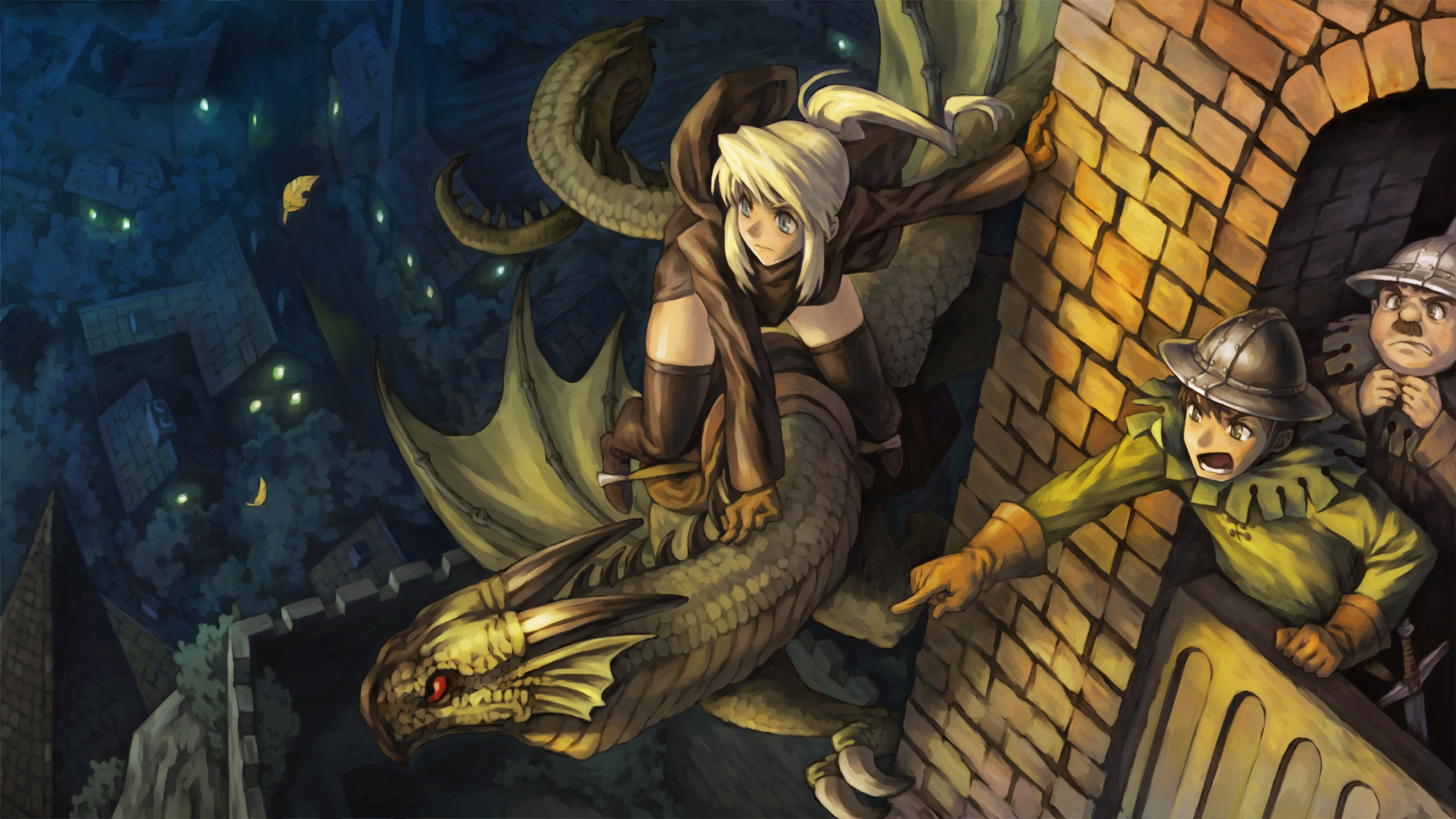 46 Dragon S Crown Hd Wallpapers Background Images Wallpaper