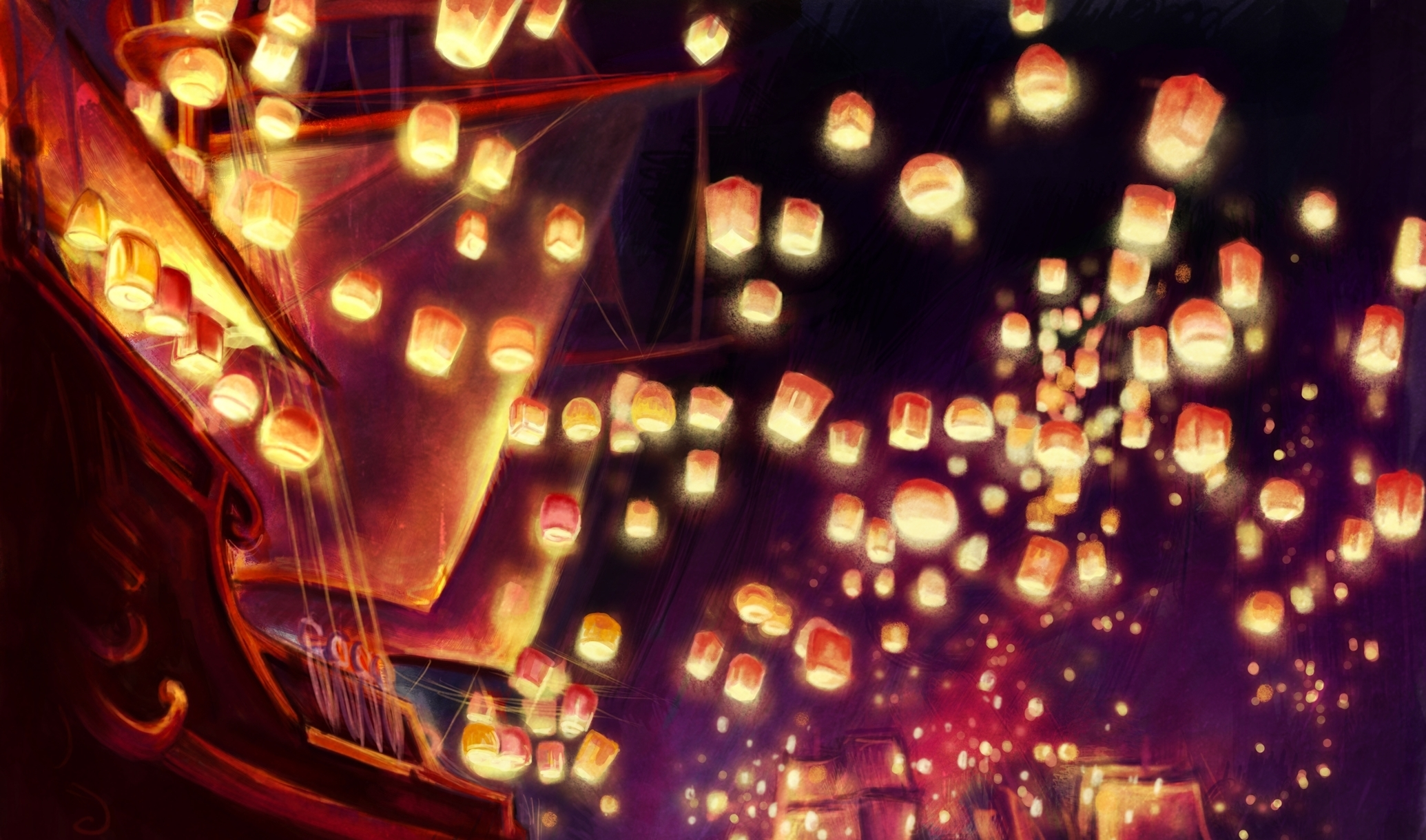 Tangled Full HD Wallpaper and Background Image | 2070x1220 | ID:432330 for Tangled Lanterns Iphone Wallpaper  303mzq