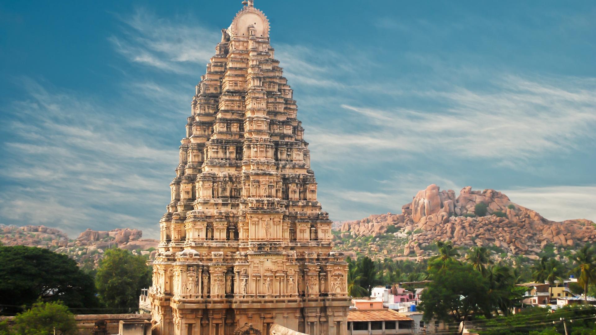 Temple HD Wallpaper
