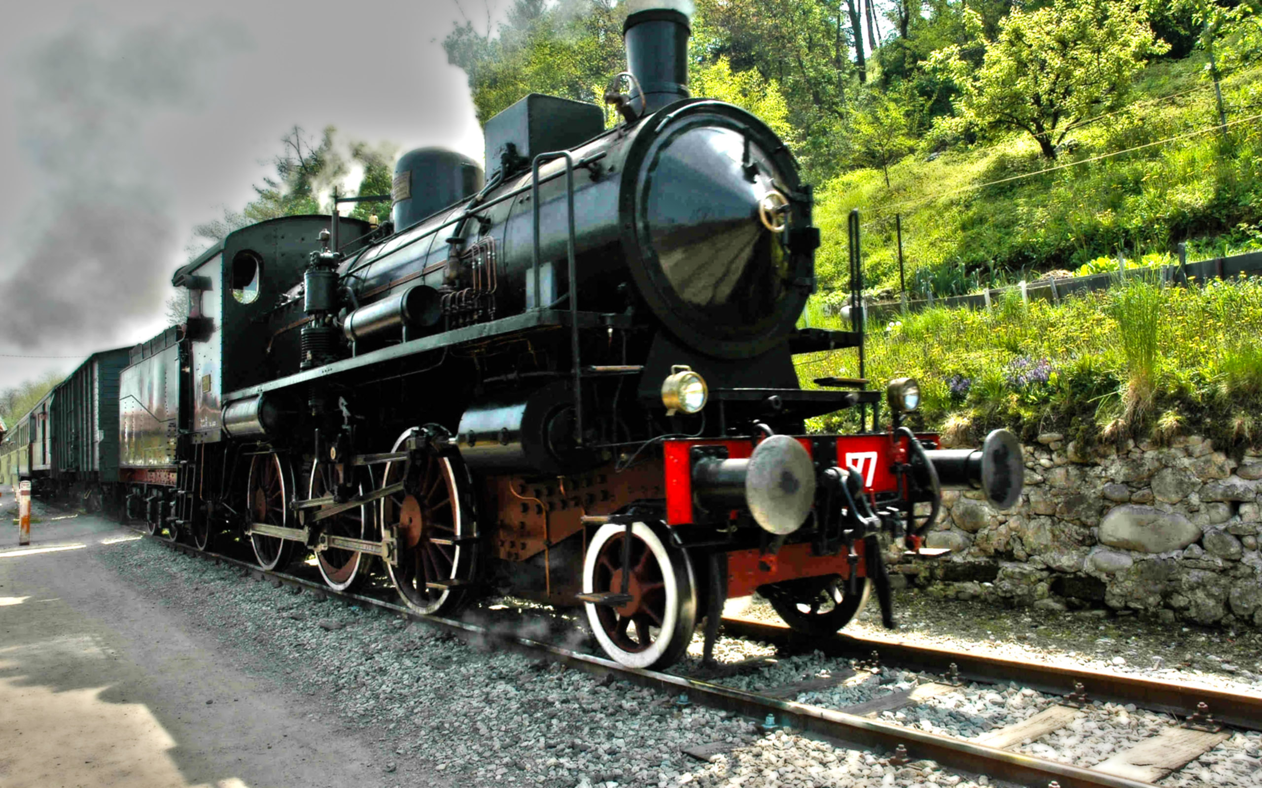 Steam Train Fondo De Pantalla Hd Fondo De Escritorio