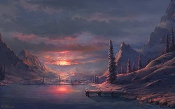 Artistisk - Winter Wallpapers and Backgrounds ID : 432676