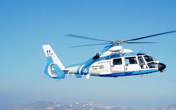 Vehicles Eurocopter AS365 Dauphin Aircraft Helicopters Helicopter HD Wallpaper   Background Image