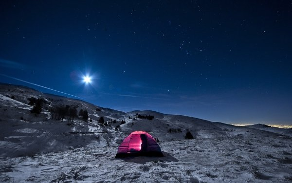 Photography Camping Starry Sky Tent Camp HD Wallpaper | Background Image